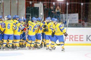 Хокейна збірна України здобула непросту перемогу над Італією на чемпіонаті світу