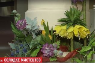 Метрові торти за тисячі євро - у столиці розпочався фестиваль високого кондитерського мистецтва