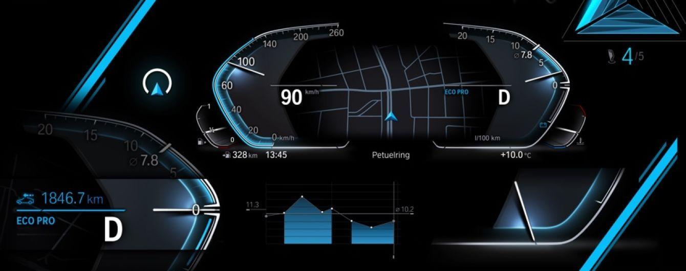 BMW показали приборную панель будущего