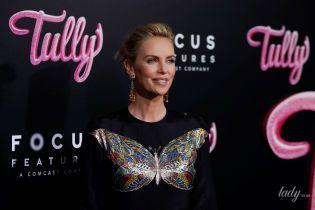 Шарлиз Терон пришла на премьеру фильма в плиссированном платье Dior