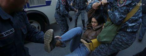 Массовый протест в Армении: полиция задержала 100 митингующих