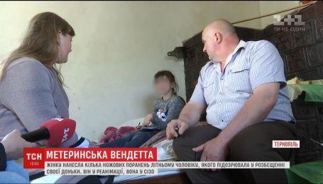 Женщина напала с ножом на 70-летнего мужчину, которого подозревала в развращении дочери