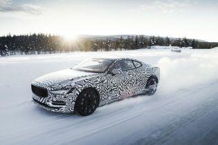 Volvo испытало гибридное купе в суровых полярных условиях