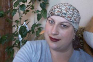 Рак груди поставил под угрозу жизнь Оксаны