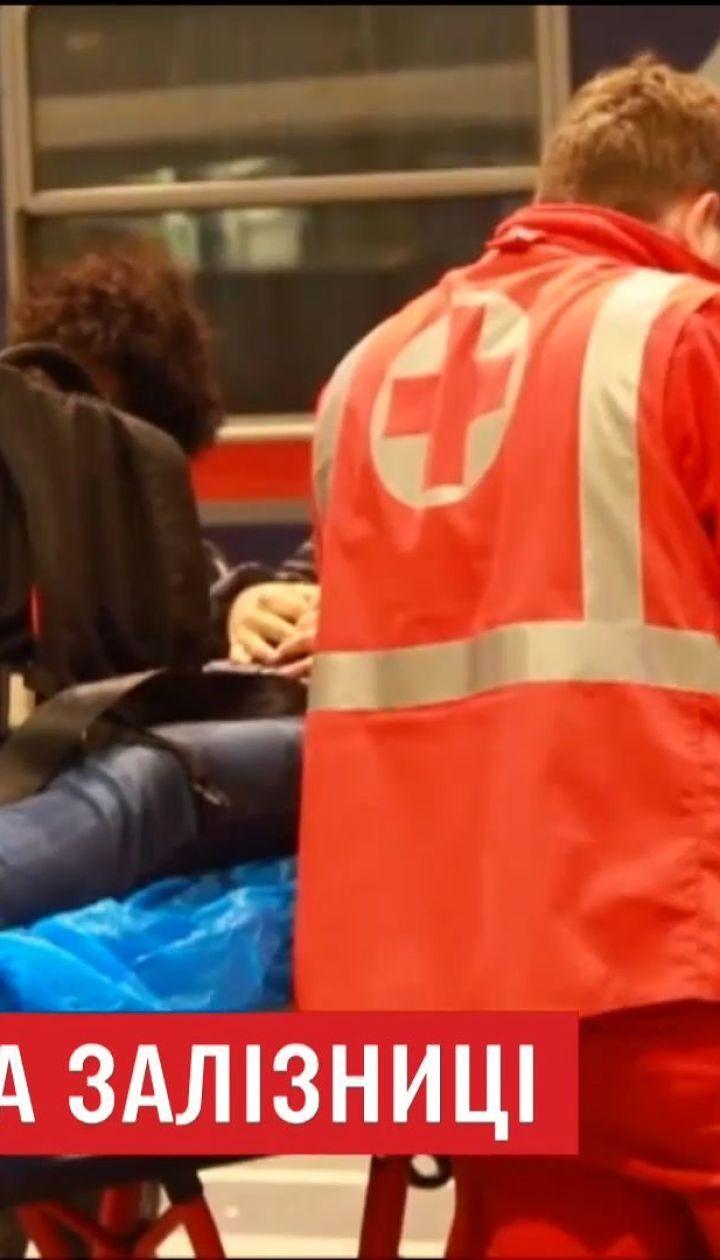 В австрийском городе Зальцбург столкнулись два поезда