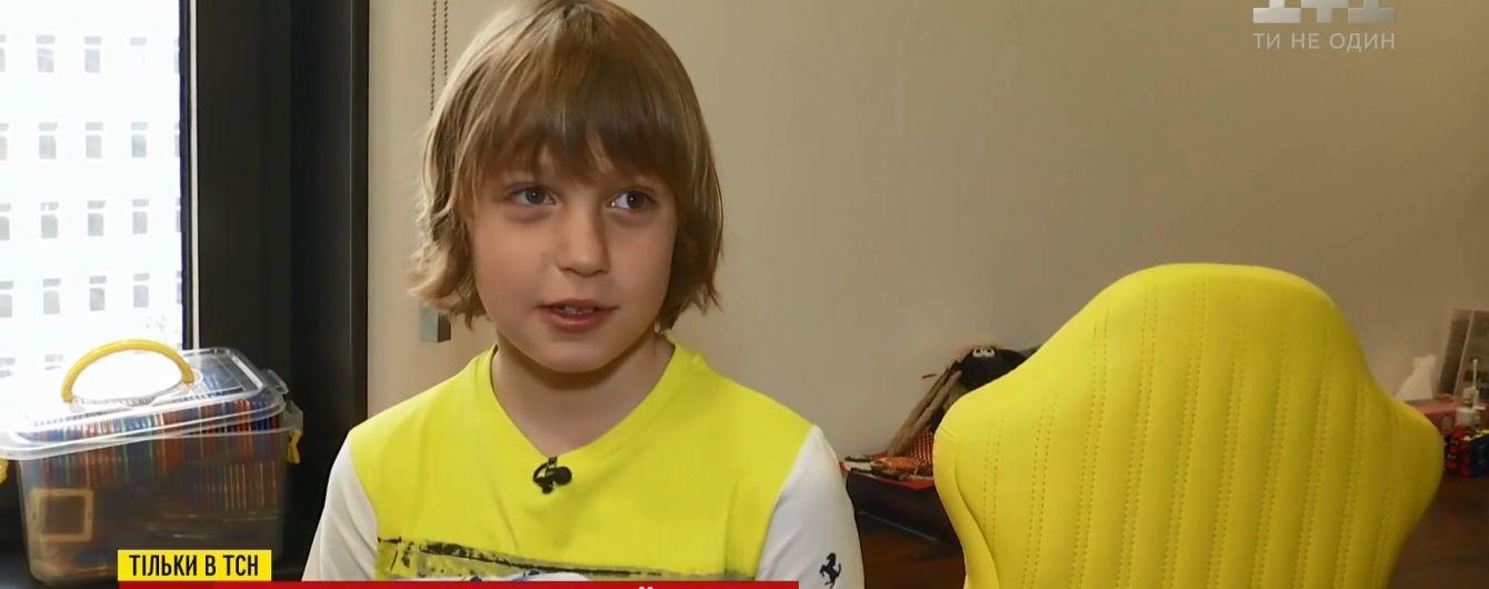 """Маленький українець потрапив до команди професійних гонщиків в Іспанії та готовий підкорювати """"Формулу-1"""""""
