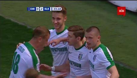 Черноморец - Александрия - 0:2. Видео гола Грицука