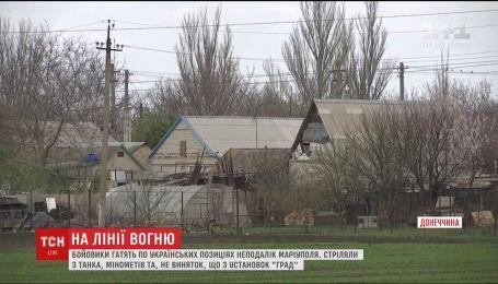 Боевики обстреляли Павлополь, Гнутово и Пищевик на Востоке