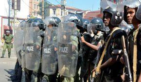 На Мадагаскаре в результате столкновений между полицией и протестующими погиб человек, еще 16 ранены