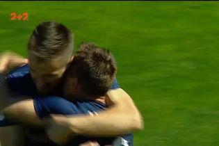 Заря - Мариуполь - 0:1. Видео гола Мишнева