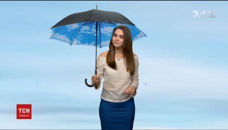 Конец апреля в Украине будет дождливым и прохладным