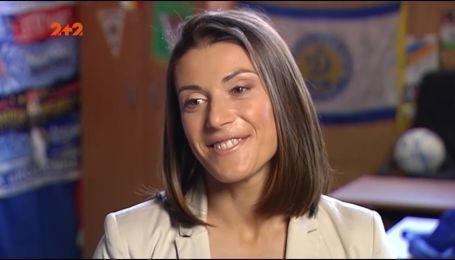 Ия Андрущак: Хотелось бы, чтобы женская команда из Украины когда-то выиграла Лигу Чемпионов