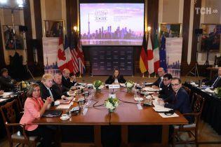 Страны G7 договорились о расширении санкций против РФ