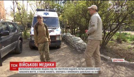 На фронте медики ценой собственной жизни спасают украинских воинов