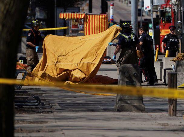 Милиция установила личность водителя, наехавшего напрохожих вТоронто