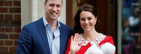СМИ узнали титул новорожденного сына Кейт Миддлтон и принца Уильяма