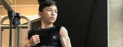 15-летний американский бодибилдер взорвал Интернет своим телосложением