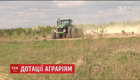 У Верховній Раді пропонують обмежити максимальний розмір дотацій для аграріїв