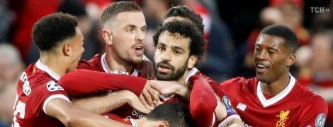 """""""Ліверпуль"""" розгромив """"Рому"""" у першому півфіналі Ліги чемпіонів, Салах забив два голи"""