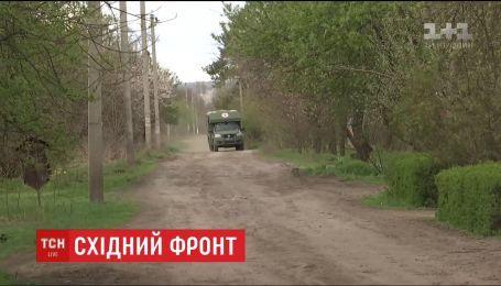 На фронте девять украинских воинов получили ранения