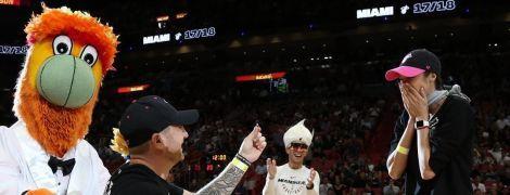 Анна Бессонова получила предложение выйти замуж прямо во время матча НБА