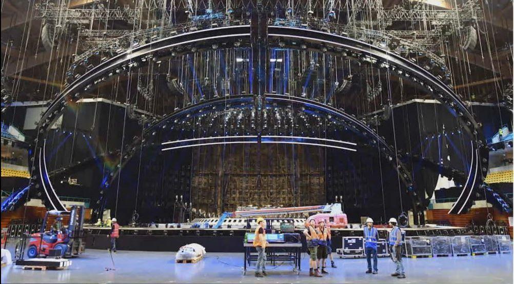 «Євробачення-2018»: організатори показали схожу накорабель головну сцену