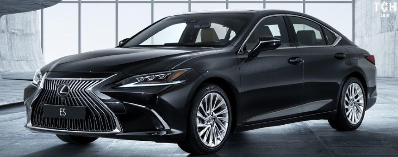 Новое поколение Lexus ES бросит вызов Mercedes E-Class