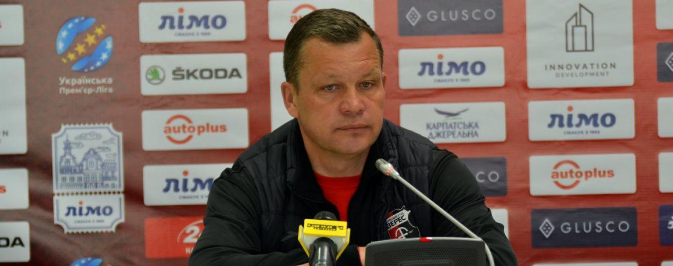 Дебютант УПЛ второй раз в сезоне уволил главного тренера