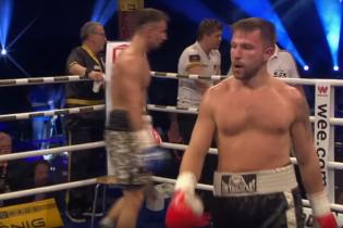 Опытный украинский боксер отправил непобедимого соперника в оглушительный нокаут