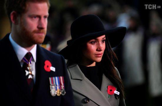 Меган Маркл вперше разом з принцем Гаррі взяла участь у офіційному заході
