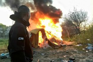 Подозреваемого в погроме ромского табора в Киеве взяли под арест