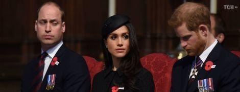 Новоиспеченный отец принц Уильям едва не заснул во время церковной службы