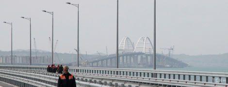 В России готовы через месяц открыть автомобильный мост в аннексированный Крым