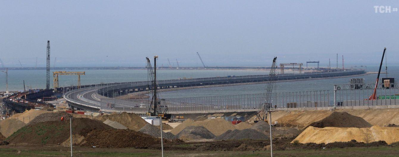 Еще одно нарушение РФ: Евросоюз осудил строительство Керченского моста