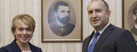 Гриневич обсудила с президентом Болгарии введение языковой статьи в образовании