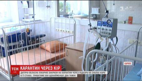Через спалах кору на карантин закрили обласну дитячу лікарню у Харкові
