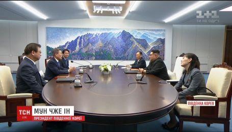 Исторические переговоры Южной и Северной Корей продолжаются четвертый час