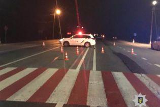 Во Львовской области пьяный водитель сбил патрульного и пытался убежать