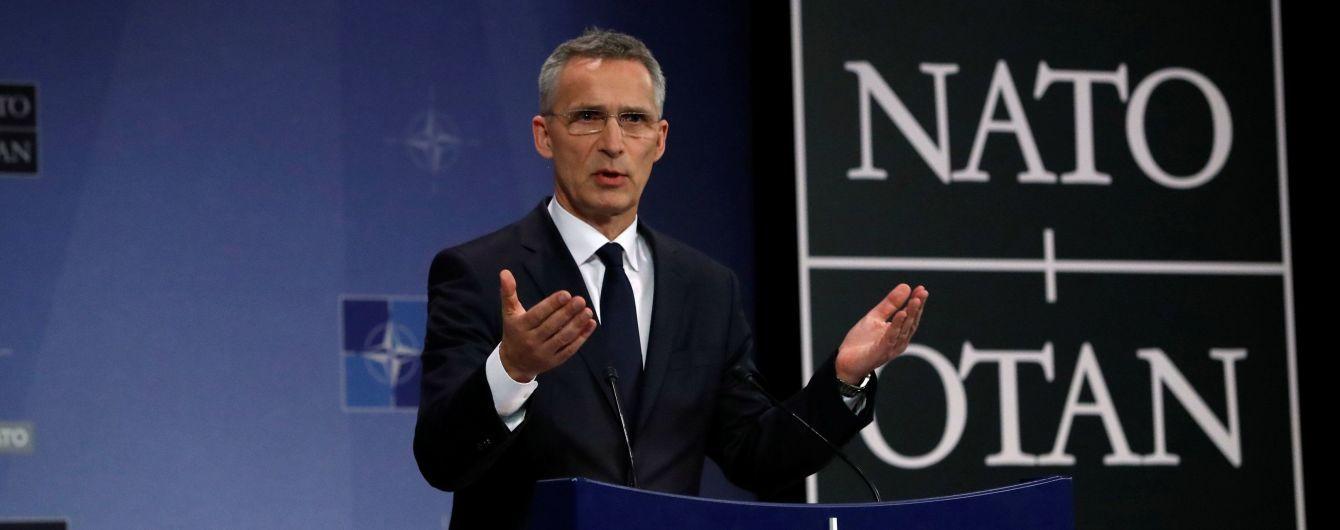 Росія не повинна втручатись у інтеграцію в НАТО України та Грузії – Столтенберг