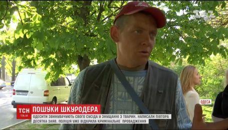 Жители дома в Одессе обвиняют своих соседей в издевательстве и убийстве животных