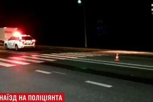 Пьяный водитель, который сбил копа на Львовщине, прятался от полицейских в лесополосе