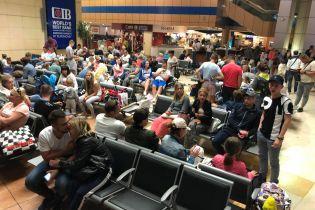 Украинских туристов, которые застряли в Египте, забрали из аэропорта в отели
