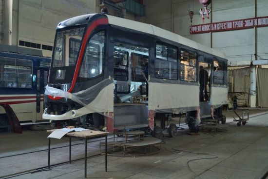 Українське підприємство буде постачати трамваї в Єгипет