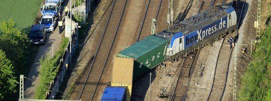 У Мюнхені з рейок зійшов вантажний поїзд