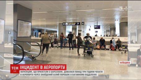 В аэропорту Борисполь правоохранители перепутали стиральный порошок с наркотиками