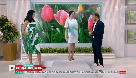 Модные платья весенне-летнего сезона 2018
