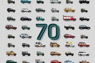 Land Rover отпразднует юбилей марки парадом своих классических моделей