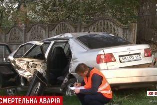В Бердичеве пьяный водитель устроил смертельное ДТП