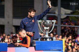 """Чемпіонський парад """"Барселони"""". Як команда відсвяткувала """"золотий дубль"""" у центрі міста"""