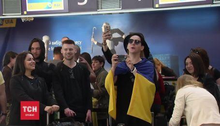 """Фанаты MELOVIN провели его на """"Евровидение"""""""